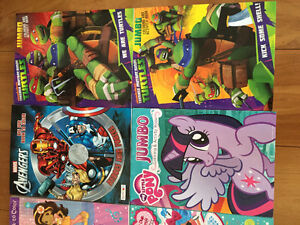 New! Assorted jumbo colouring & activity books Kitchener / Waterloo Kitchener Area image 2
