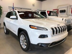 Jeep Cherokee 4x4 LIMITED CUIR CAMERA BLUETOOTH HITCH 2015