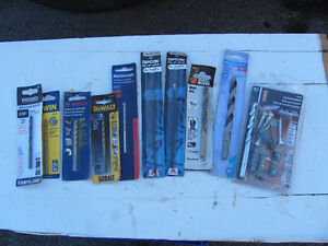 ASSORTMENT OF NEW MIXED DRILL BITS