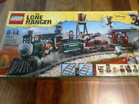 Lego Lone Ranger 79111 - constitution train chase