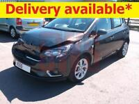 2015 Vauxhall Corsa 1.4i ecoFLEX SRi DAMAGED REPAIRABLE SALVAGE