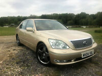 2004 LEXUS LS 430 4.3 AUTO 6 SPEED AUTO TOP OF THE RANGE REVERSE CAMERA