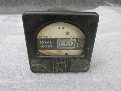 Vintage Marion Instrument Division Honeywell Hours Operation Gauge Steam Punk
