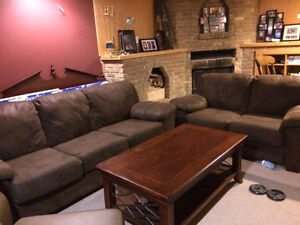 STEAL OF THE WEEK! Sofa and love seat set