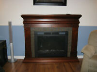 Moving Sale: Electric Fireplace