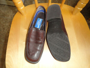 Leather Brown Shoes - Size 6.5 - 2 pairs
