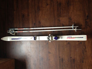 Skis and poles for kids