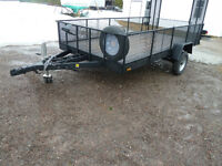6ft 2in x 12ft utility trailer