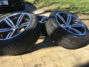 "19"" BMW Blizzak Winter Tires used 1 Season plus rims"