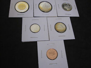 1998 Canada Sterling Silver PROOF 6 Coin Set