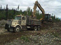Gravel Truck, Sander Plow Truck Driver Needed Mackenzie Area