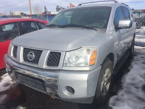 2004 Nissan Armada SUV, Crossover Automatic in Miles