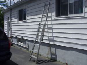 LADDER- ALUMINUM  6 FT  TO 10 FT COMBO
