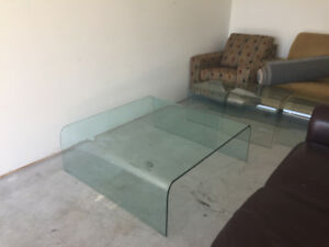 Tempered Glass Coffee Tables and End Tables
