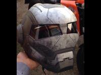 Iron man helmet Matt Grey size L £100