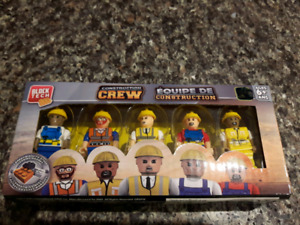 Brand new sealed 5 Lego like Block Tech Construction Crew toys