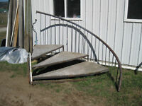 spiral steps/stairs