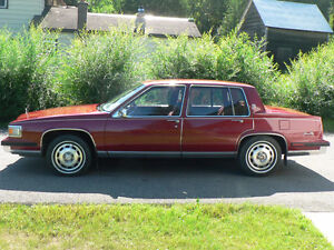 1985 Cadillac DeVille in excellent condition, low mileage