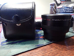 telephotic lens for camera