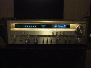 Vintage Pioneer SX-3700 Stereo Receiver + ESP 370 Speakers
