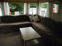 Static Caravan 2002 Cosalt Coaster 35x 19 2 beds £3750.00 plus site fees