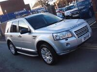 2010 59 PLATE Land Rover Freelander 2 2.2Td4 2010MY HSE Automatic 5dr in Silver