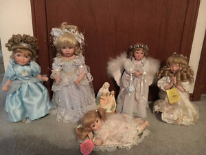 Various Porcelain Dolls for sale with original tags