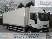 2010 10 IVECO EUROCARGO 140E22S 24FT BOX WITH TAIL LIFT