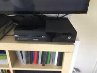 Xbox one, 3 controllers and 15 games