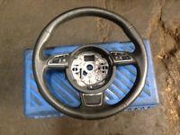 Audi a1 sport multifunctional steering wheel