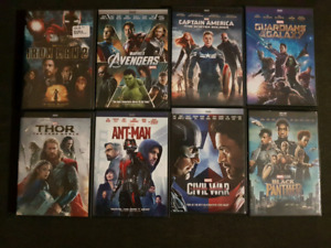 8 Marvel movies one great price.