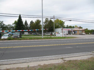 Commercial property-compound area for lease