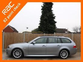 2006 BMW 5 Series 530i 3.0 258 PS M Sport 6 Speed Auto Touring Estate Pan Roof F