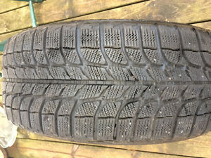 Set of Michelin X-Ice Tires 225/55R 16