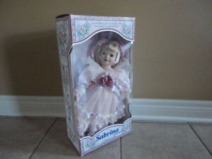 SABRINA COLLECTION LIMITED EDITION COLLECTIBLE FINE PORCELAIN