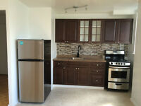 beautiful fully renovated new kitchen and bath  1 bedroom