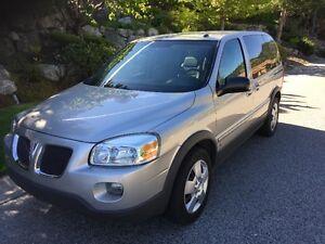 2008 Pontiac Montana SV6 Minivan - Price Reduced!