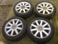 "17"" Old Style Audi A4 RS4s Alloys Multifit 5x100 5x112"