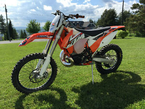 SOLD. 2015 KTM 250 XCW new condition