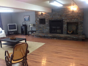 Newly reno, Bright spacious1,350 1 bed basement suit on acreage