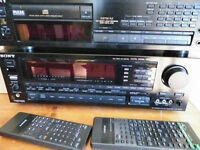Sony Surround Receiver and CD