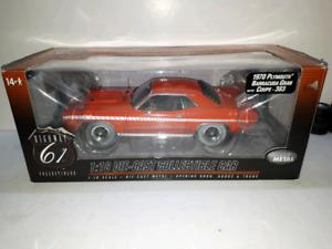 Highway 61 1970 Plymouth Barracuda Gran Sport 1:18 diecast