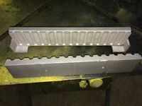 Fishing weight mold