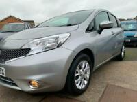 Nissan note Showroom Condition 40,000 fsh One years warranty included Px