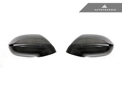 AutoTecknic AU-0018 Carbon Fiber Mirror Covers Fits 11+ Audi A7 S7
