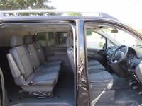 MERCEDES VITO DUALINER DOUBLE CAB CREW VAN 133 2.1 CDI 2014 AIR CON 6 SEATS VGC