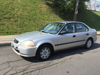 1998 HONDA CIVIC , AUTOMATIQUE , AIR CLIMATISE ,4 CYLINDRE 1.6 L