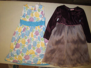 2 belles robes taille 6ans