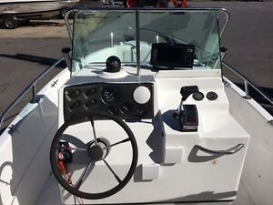 Campion Centre Console with NEW 150hp Mercury Cornwall Ontario image 6