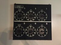Vintage Bisset dart score board